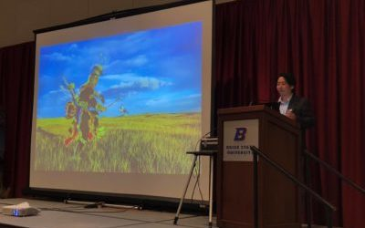 Keynote Speaker at the Sage Grouse Initiative conference