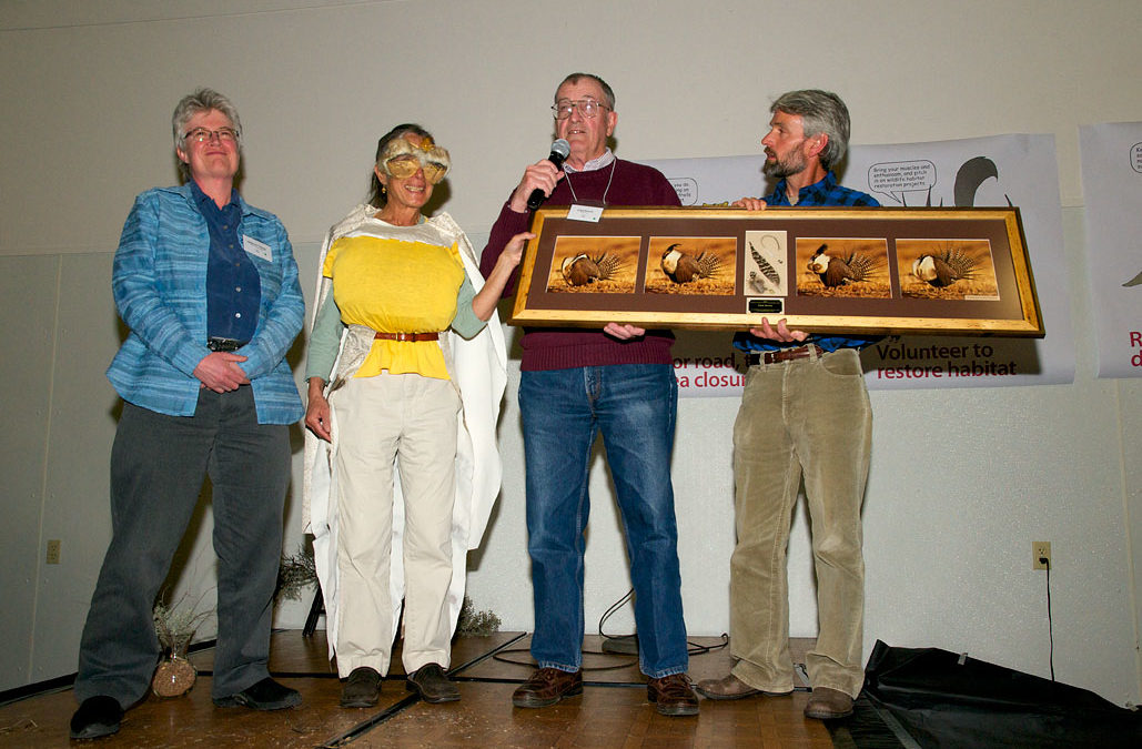 My Gunnison Sage-grouse photos as award